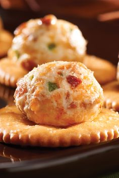 Bacon-Jalapeno Puffs – Smoky and spicy will always find an audience at a party—especially when the smoky part comes from crumbled bacon in this appetizer recipe.