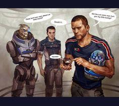 Mass Effect,фэндомы,ME комиксы