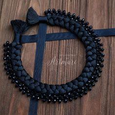 ArtMari- Ukrainian brand of designer jewelry … – Fashion Accessories Black Evening Dresses, Master Class, Jewelry Design, Designer Jewelry, Fashion Accessories, Beaded Necklace, Women Jewelry, Silk, Bracelets