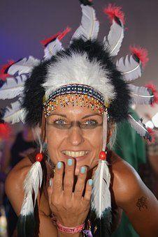 Indiai, Indián Asszony, Az Emberek