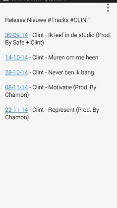 Clint - Release nieuwe tracks!