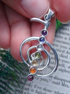 ~~~~REIKI CHAKRA GEMSTONE PENDANT~~~~  This Fab Pendant Can be Viewed Further Here--->