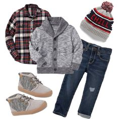Plaid Outfit Idea Winter and Autumn - Toddler Outfits - Kids Style Boys Fashion Wear, Toddler Boy Fashion, Little Boy Fashion, Toddler Boy Outfits, Fashion Shoes, Toddler Boys, Fashion Trainers, Fashion Purses, Baby Boys