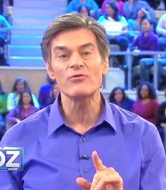 Dr. Oz said research indicates that curcumin (the raw ingredient in turmeric) treats depression better than prescription drugs. He said curcumin supplements are more effective than cooking with turmeric and suggested the following:  1. Take 500mg of curcumin twice a day to combat depression.  2. Make sure the curcumin supplement contains 95% curcuminoids.  3. Take two tablespoons of turmeric a day to get the same effect as a curcumin supplement.