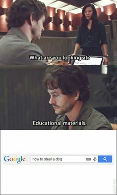 Hannibal - Will Graham doing research