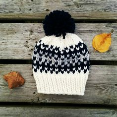 Now's the time to stock up on winter accessories! This fair isle knit hat is the perfect way to add some wintery colours to your wardrobe!