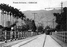 THE TRAMWAYS OF VENEZUELA, Puente Hierro, Caracas