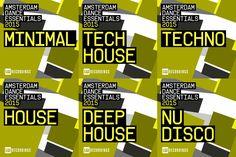 VA – Amsterdam Dance Essentials 2015 » Minimal Freaks