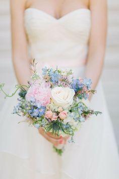 Read more spring bouquet http://www.itakeyou.co.uk/wedding/spring-wedding-bouquets/  Spring Wedding Bouquet,Pastel bridal Bouquet