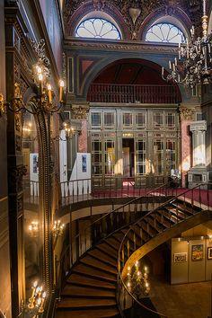 Bucharest Romania Sutu Palace interior eastern Europe cities palaces