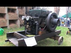 Fairbanks Morse 20 HP Model N Hit and Miss Gas Engine - YouTube