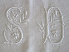 Stunning Antique French Pure Linen Sheet by VintageFrenchFinds, $220.00