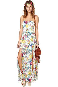 Reverse Secret Garden Dress