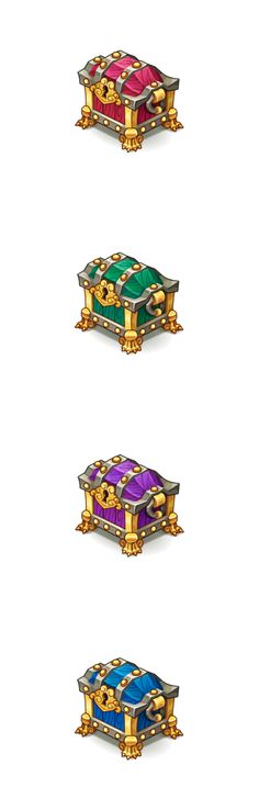 Treasure chest variation by Pykodelbi