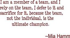 Mia Hamm born with club foot Mia Hamm, Quotable Quotes, Motivational Quotes, Article On Women, Footprint Art, Teen Quotes, Speak The Truth, A Team, Inspire Me
