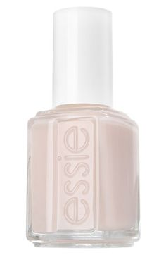 "Pale, short nails are what's ""in"" for spring 2013!  Try these Essie Nail Polish shades in whites available at #Nordstrom."