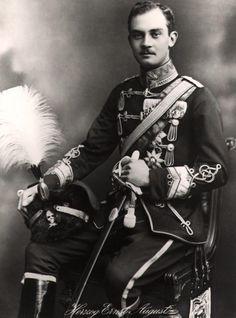 Duke Ernst August of Brunswick, grandson of the last King of Hannover.