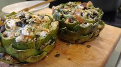 """""""So what are you making for dinner?"""": The Return of the Stuffed Artichoke"""