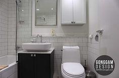 하남 미사지구 A11블럭 84 마이너스옵션 아파트인테리어 [30평대 40평대 50평대 아파트리모델링 위례신도시 마이너스옵션 인테리어] : 네이버 카페 Korean Apartment, Very Small Bathroom, Toilet, Vanity, Interior, Dressing Tables, Flush Toilet, Powder Room, Indoor