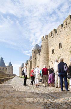 Carcasona, ciudad medieval, UNESCO - Sur de Francia