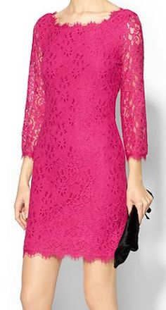 lace fuchsia dress http://rstyle.me/~3ROnq