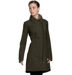 I want this jacket so very much. But I cannot even remotely justify owning another coat. Why do you have to make such attractive outerwear Nau? Quiet trench coat in organic cotton with a weather-resistant wax finish.