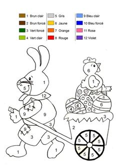 Home Decorating Style 2020 for Coloriage Magique Paques, you can see Coloriage Magique Paques and more pictures for Home Interior Designing 2020 at Coloriage Kids. Easter Worksheets, Easter Activities, Color Activities, Infant Activities, Kindergarten Activities, Math Worksheets, Easter Coloring Pages, Coloring Book Pages, Coloring Pages For Kids