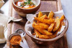 Spicy Roasted Potato Wedges Recipe