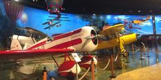 Kalamazoo's Air Zoo is the perfect family day trip featuring an aviation museum and indoor amusement park!