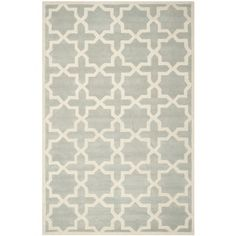 @Overstock - Handmade Moroccan Rectangular Gray Wool Rug (6' x 9') - A contemporary design and dense, thick pile highlight this handmade rug inspired by Moroccan patterns with today's updated colors.  http://www.overstock.com/Home-Garden/Handmade-Moroccan-Rectangular-Gray-Wool-Rug-6-x-9/8079895/product.html?CID=214117 $269.99