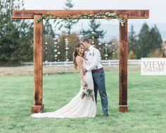 Plum & Gold Organic Boho Wedding Theme