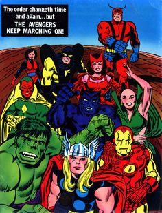 Avengers - Marvel Treasury Edition #7 back cover