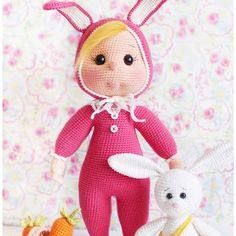 Bunny Costume Wendy Doll Pattern