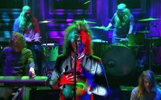 Watch The Flaming Lips Trippy Tonight Show Performance  On Friday psychedelic survivors the Flaming Lips will release their new LP Oczy Mlody. And these days it almost feels like the Lips are putting out new records mostly as an excuse to get weird on late-night television. Last night the band played the musical-guest role on The Tonight Show. They pl...