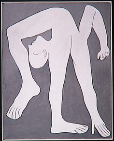 Pablo Picasso, L'Acrobat, 1930, Musée Picasso Paris.
