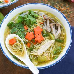 Green Tea Chicken Soup | Thirsty for Tea @bonnieeng19