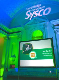 Great Sysco Corporation event at the Historic Vibiana in Los Angeles!