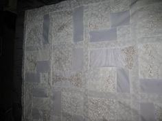 13 ways to repurpose your wedding dress- Wedding Wednesday ... : wedding dress quilts - Adamdwight.com