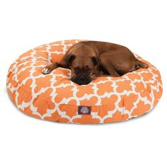 Majestic Pet Trellis Round Pillow Pet Bed - 78899550680