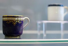 First class China intended for White Star Line first class passengers aboard the Titanic. Found decades later in the wreckage.