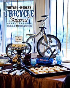 Love this idea for Jackson's birthday. I want the trike to be his big present...this may be the theme around it :)