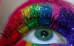 ultimate rainbow eyes!