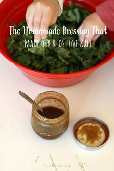 It's true -- all four of our kiddos love this stuff! And the easy dressing is the key.