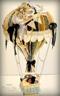 Graphic 45 Hot Air Balloon by Miranda Edney