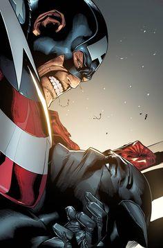 Cap's Shield. by MarteGracia.deviantart.com on @deviantART