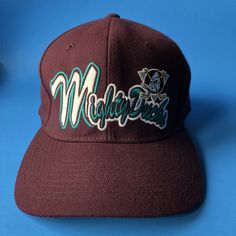 69a5d7512 Vintage Mighty Ducks Starter hat. Covers fitted hat sizes 7- 7 3/4