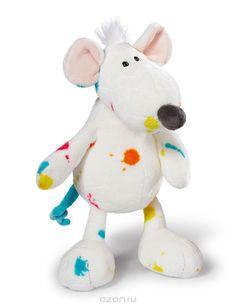 Nici Мягкая игрушка Крыска, сидячая, 34 см