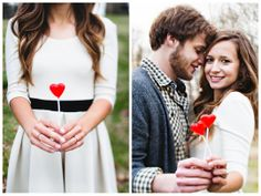 {Real Engagement} Cameron & Josh: Playful Winter E-session in South Carolina | Oh Lovely Day