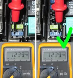 How to check a fuse in a car visually or with a multimeter. What can cause a blown fuse, common problems. Automotive Engineering, Electronic Engineering, Automobile, Home Electrical Wiring, Truck Repair, Car Gadgets, Car Cleaning, Mobility Scooters, 3d Printing