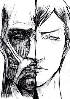 Reiner and Bertholdt. Wow. This is going to be interesting in Season 2. Wonder what's going to happen